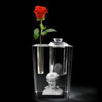 LG_oma urn roos zwart vrijstaand